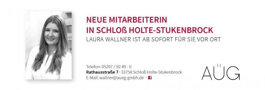 Neue Mitarbeiterin in der Niederlassung Schloß Holte-Stukenbrock