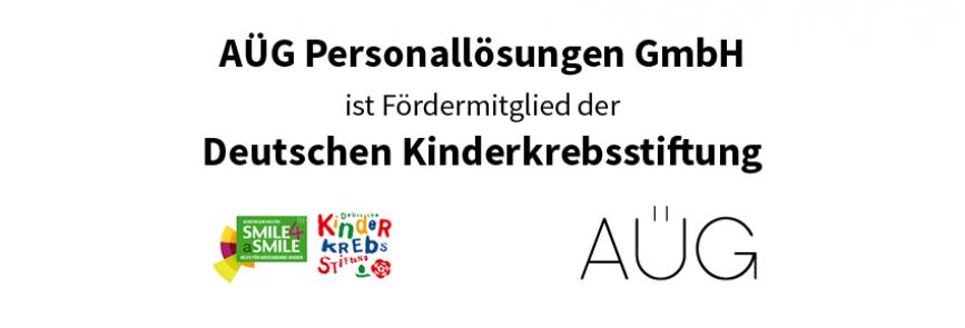 Fördermitglied Deutsche Kinderkrebsstiftung